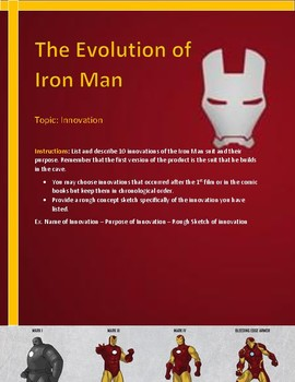 Iron Man Innovation Activity