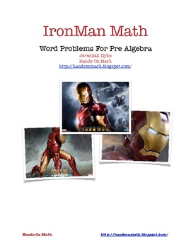 Iron Man Standardized Test Problems
