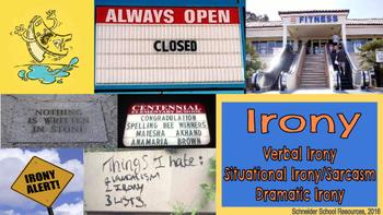 Irony: A Presentation About the Three Main Types of Irony
