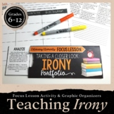 Irony: Focus Lesson for ANY Novel