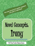 Free Irony Printable for Graphic Organizer