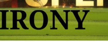 Irony lesson with prezi and worksheet - Grades 6-9