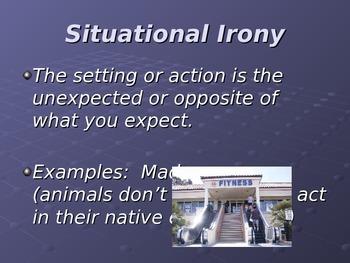 Irony- Mini- Lesson