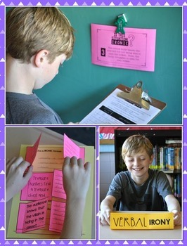 Irony Mini-Unit - 3 Fun Lessons on Situational, Dramatic, & Verbal Irony