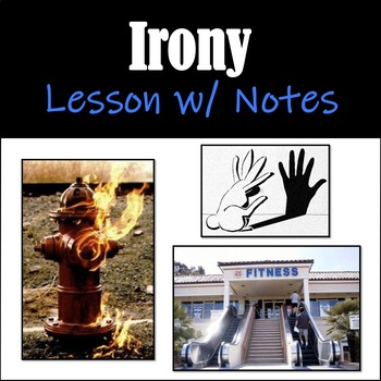 Irony PowerPoint w/ Student Notes