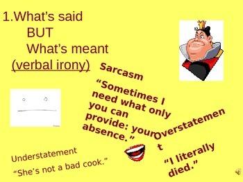 Irony Powerpoint Presentation