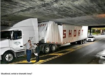 Irony - Situational, Verbal, or Dramatic