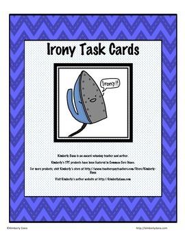 Irony Task Cards