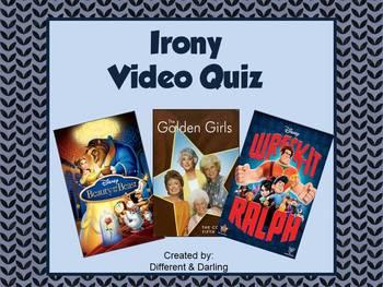 Irony Video Quiz