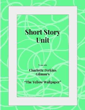 """Irony, Vocabulary, and Writing Prompts for """"The Yellow Wallpaper"""""""