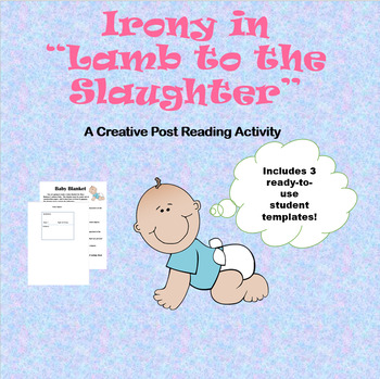 """Irony in """"Lamb to the Slaughter"""" - A creative post reading activity"""