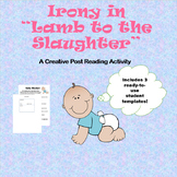 """Irony in """"Lamb to the Slaughter"""" - A creative post reading"""