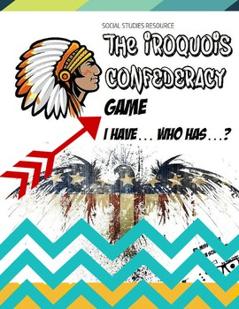 """Iroquois Confederacy """"**Fun Review Game-Engage the entire"""