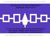 Iroquois Confederacy Jigsaw Activity