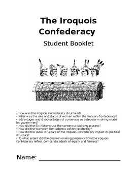 Iroquois Confederacy Student booklet