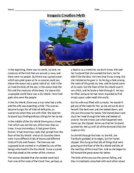Iroquois Creation Myth