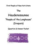(Iroquois) Haudenosaunee SMARTboard Lesson & Short-Response Questions