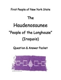 (Iroquois) Haudenosaunee SMARTboard Lesson & Short-Respons