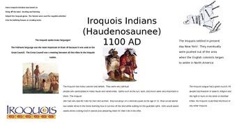 Iroquois Indians