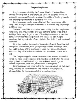 Iroquois Longhouses