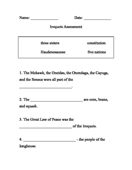 Iroquois Modified Test