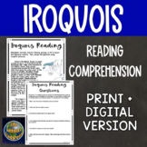 Iroquois Reading Comprehension
