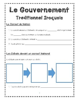 Iroquois Traditional Gouvernement