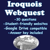 Northeastern Native Americans Webquest (Iroquois)