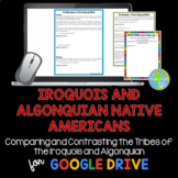 Iroquois and Algonquian Native Americans