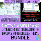 Iroquois and Algonquian Native Americans BUNDLE