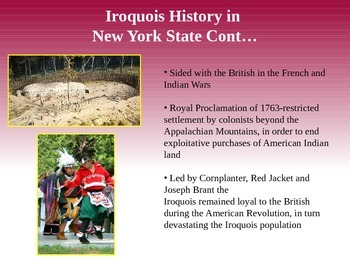 Iroquois/Haudenosaunee Culture PowerPoint-FREEBIE!!