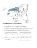 Fourth Grade Common Core Iroquois/Haudenosaunee (Map Comparison)