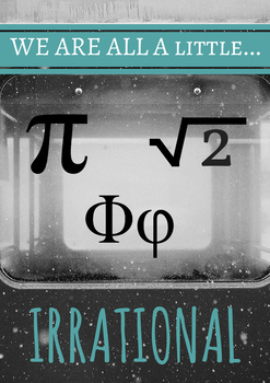Irrational Numbers Poster