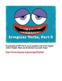 Irregular English Verbs APP, Part 3