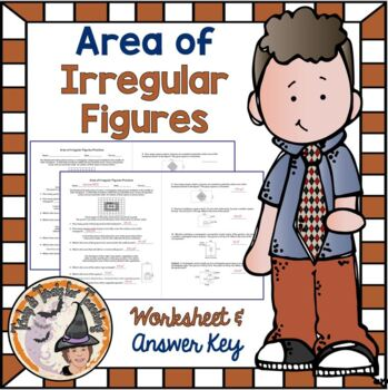 Area of Irregular Figures Composite Compound Shapes Word P