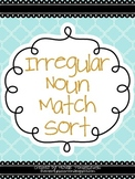 Irregular Noun Match Sort
