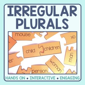 Irregular Plural Noun Matching Puzzles
