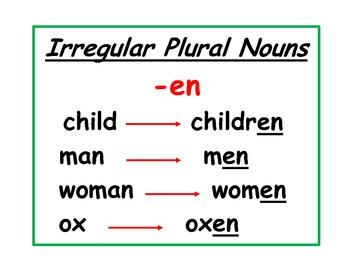 Irregular Nouns