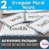 Irregular Plural Nouns: 3 Activities