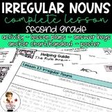 Irregular Nouns Activity with Lesson Plans, Handout, Poste