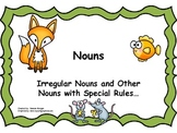 Irregular Nouns and Other Special Nouns