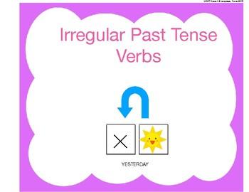 Irregular Past Tense