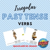 Irregular Past Tense BOOM Cards- with ANIMATION!