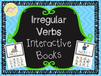 Irregular Past Tense Interactive Books