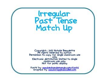 Irregular Past Tense Match Up