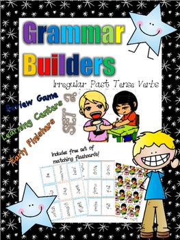 *Print and Play* Grammar Builders - Memory Games - Irregul