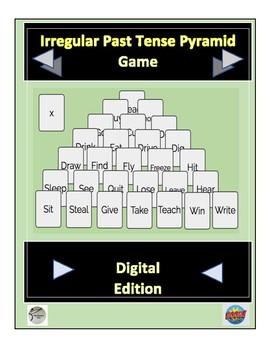 Irregular Past Tense Pyramid Game