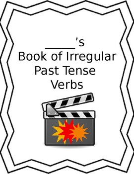 Irregular Past Tense Verb Book with Worksheets