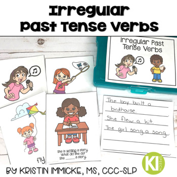Irregular Past Tense Verb Flashcards and Activities