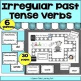 Irregular Past Tense Verbs Games – Easel Activities - Dist